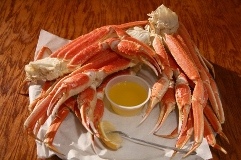 All you can eat crab legs at Charlie Horse Restaurant in Ormond Beach, FL