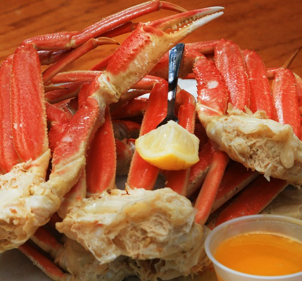 All YOU Can Eat Snow Crab