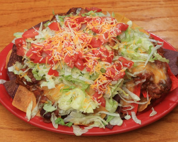Charlie Horse Loaded Nachos